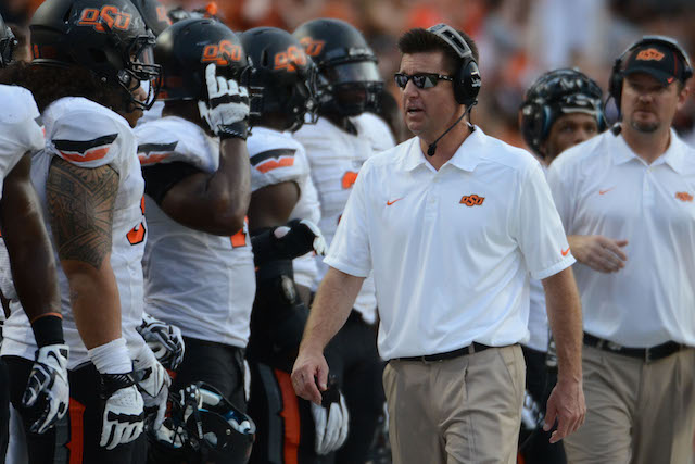 The NCAA is investigating the Oklahoma State football program