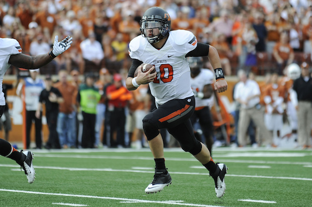 Clint Chelf has helped Oklahoma State find consistency on offense