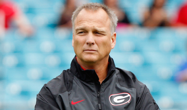 Mark Richt and Georgia are showing off their artistic side