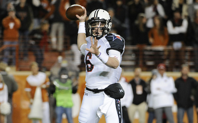 Mayfield started eight games for Texas Tech as a walk-on freshman