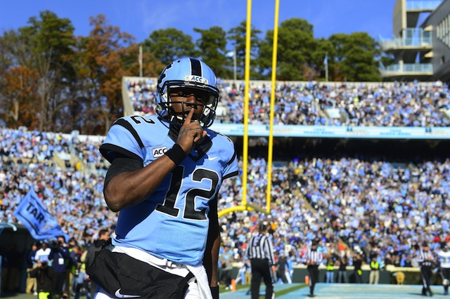 Marquise Williams hopes to win the staring QB job for 2014.  (USATSI)
