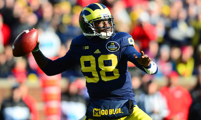 Devin Gardner will return to Michigan next season and have the same coaches to work with