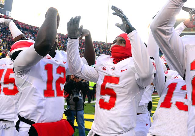 The Buckeyes were Saturday's biggest winner