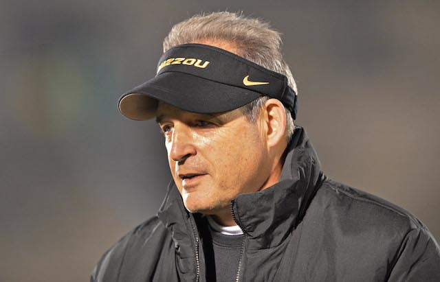 Gary Pinkel has reportedly agreed to a new deal with Missouri.  (USATSI)