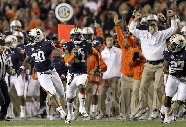 You can relive the 2013 Iron Bowl and other SEC on CBS classics this week