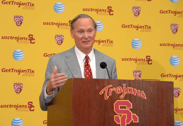 Pat Haden is one of 13 members on the playoff selection committee.