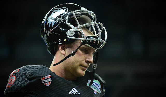 The clock struck midnight on Jordan Lynch and NIU Friday night
