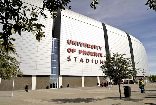 Glendale's University of Phoenix Stadium will host the 2016 title game
