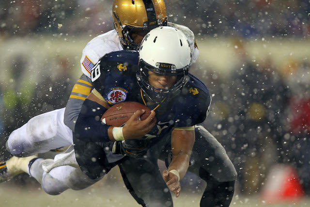 Keenan Reynolds and the Midshipmen proved too much for Army once again