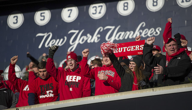 Rutgers won't be getting its Pinstripe Bowl payout from the AAC