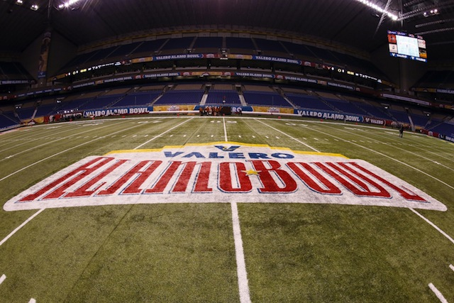 The Alamo Bowl will be held on Jan. 2, 2015 this season.  (USATSI)