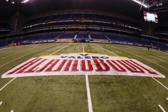 The Alamo Bowl will be held on Jan. 2, 2015 this season.  (USATSI)