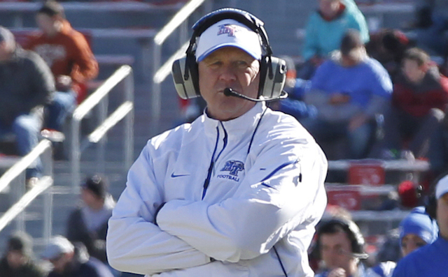 Rick Stockstill felt the need to apologize for his team's antics during the Armed Forces Bowl