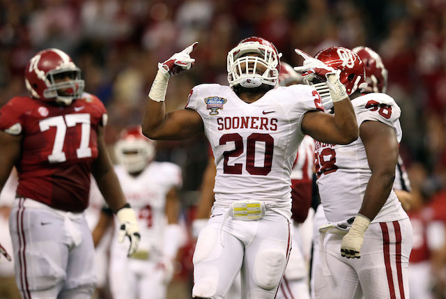 Frank Shannon was Oklahoma's leading tackler in 2013
