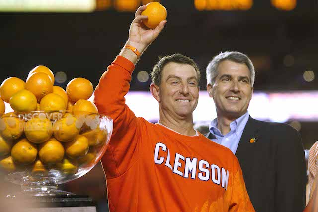 dabo swinney clemson new contract