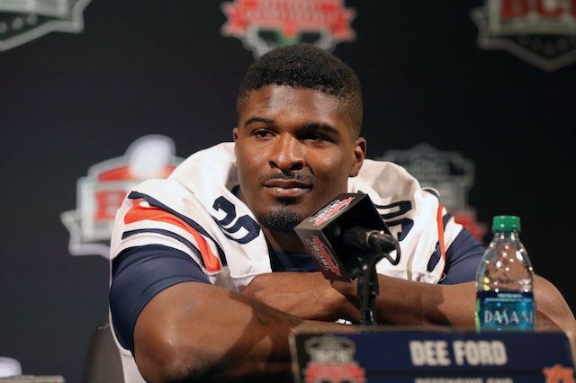 This is Auburn's Dee Ford, not to be confused with England's Dee Ford