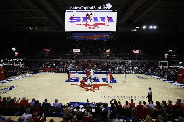 SMU fans can buy a $30 ticket that will be valid until the next home loss.  (USATSI)