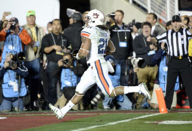 Tre Mason's final run at Auburn was a record-setting touchdown