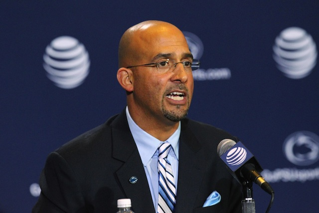 James Franklin will attend the State of the Union address on Tuesday night.  (USATSI)