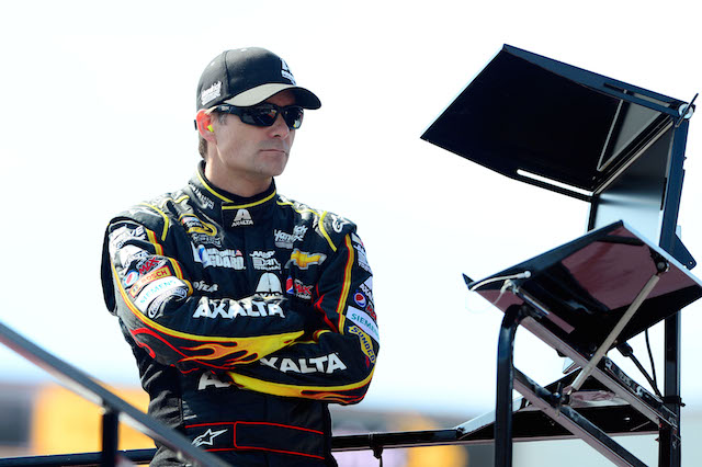 NASCAR driver Jeff Gordon will be repping the Aggies this weekend
