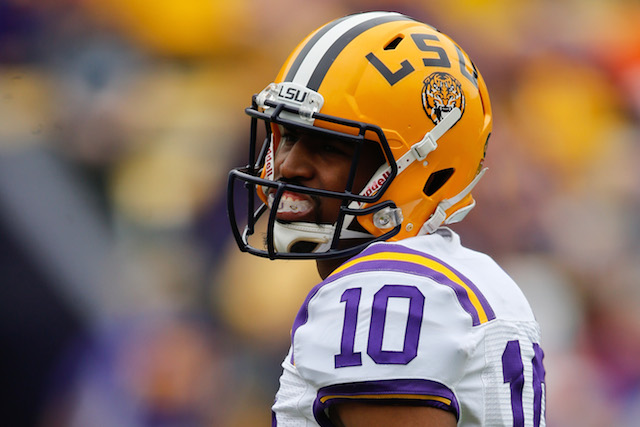 Anthony Jennings appeared in nine games for LSU last season.