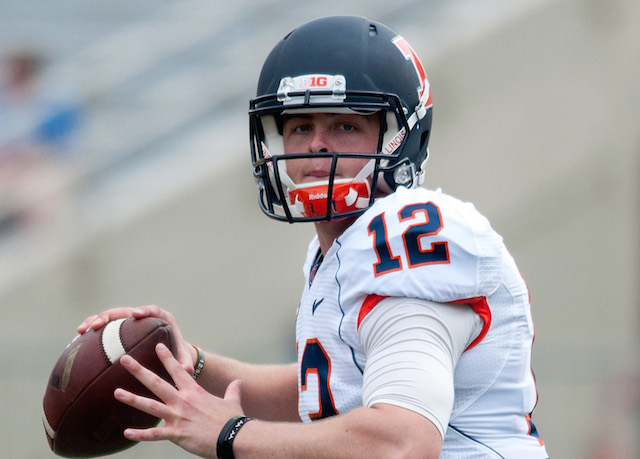 Wes Lunt transferred to Illinois from Oklahoma State.