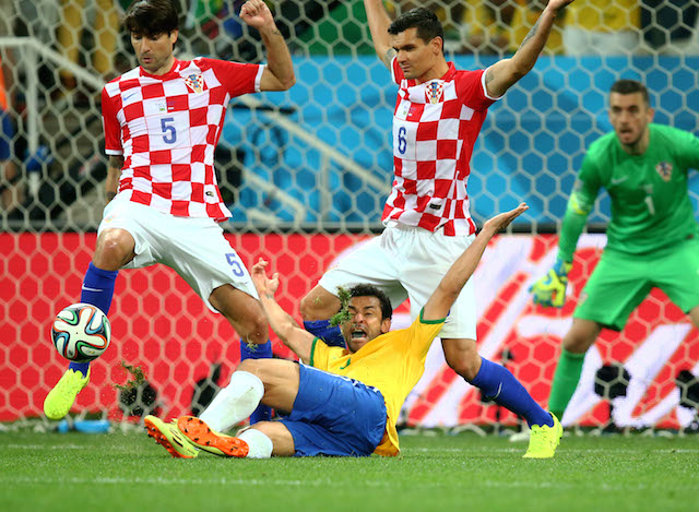 A controversial penalty call helped determine the outcome of Brazil-Croatia Thursday