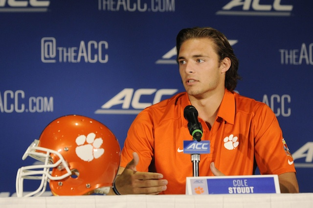 Cole Stoudt backed up Tajh Boyd for three years. (USATSI)