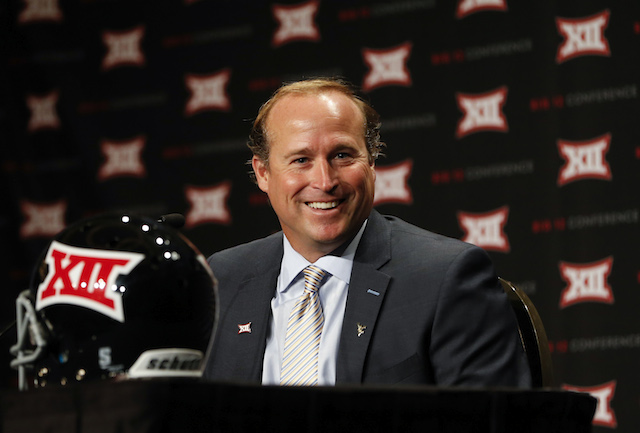 Dana Holgorsen you lie in recruiting a bunch. (USATSI)