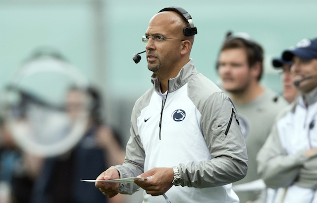 James Franklin made some questionable calls, but he's still 1-0 at Penn State