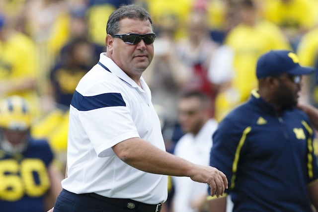 Michigan is an underdog heading to Notre Dame on Saturday. (USATSI)