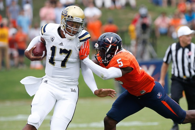 Brett Hundley and the UCLA offense accounted for just one TD against Virginia. (USATSI)