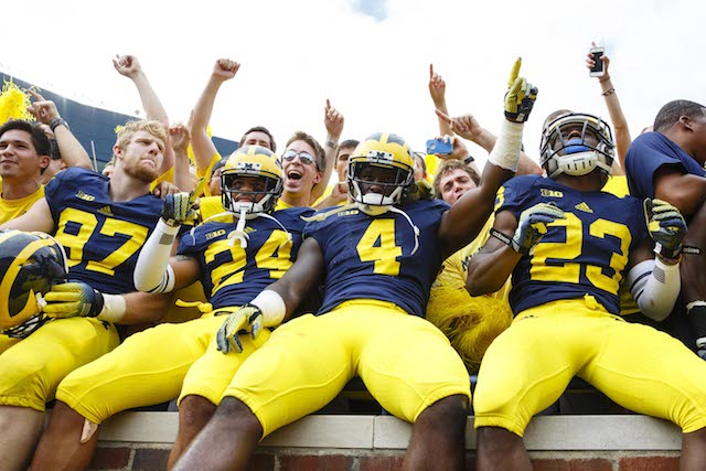 Michigan didn't have any trouble with Appalachian State last week