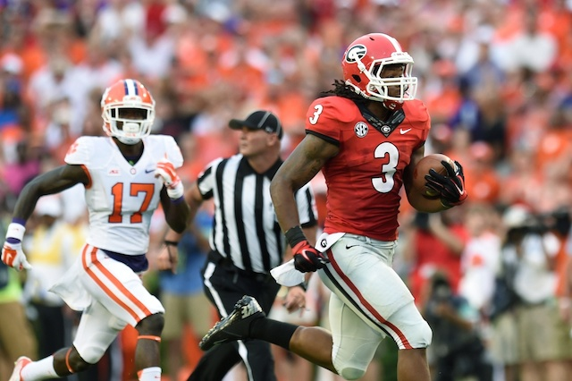 Todd Gurley had four all-purpose touchdowns against Clemson. (USATSI)