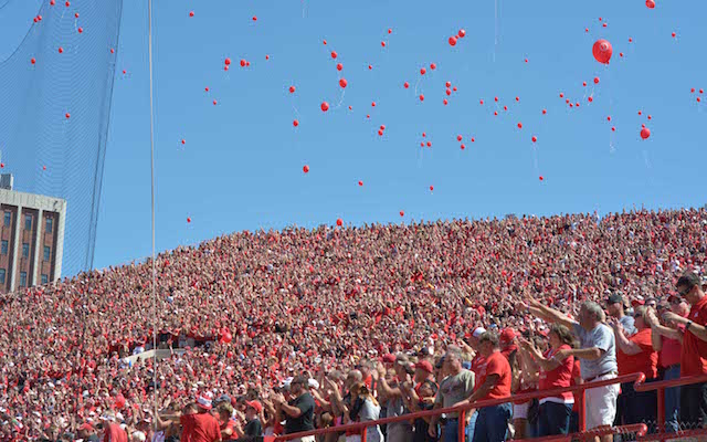 Man suing Nebraska over traditional release of first-score balloons