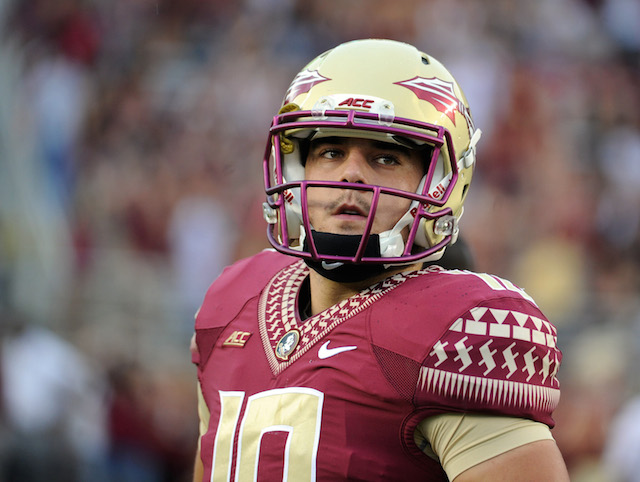 Sean Maguire has appeared in five games as a Seminole, throwing for 144 yards