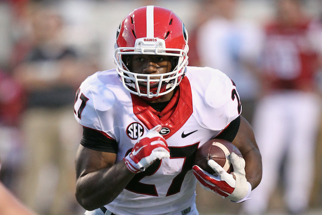 One Vegas book is a big believe in Nick Chubb and the Bulldogs