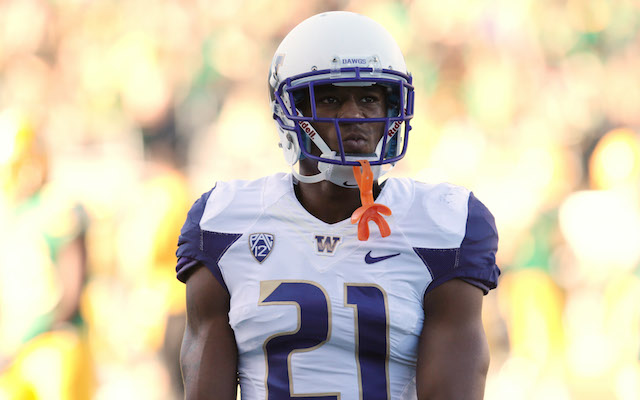 Marcus Peters leads the Huskies with three interceptions in 2014