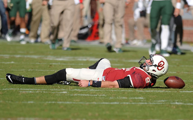 Trevor Knight was injured against Baylor last Saturday
