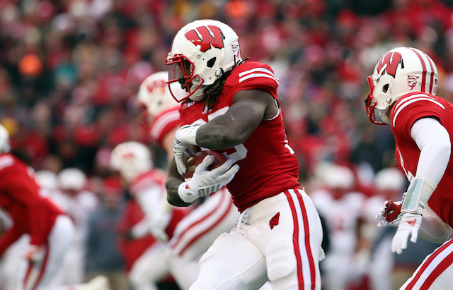Melvin Gordon only needed three quarters to set a single-game rushing record.