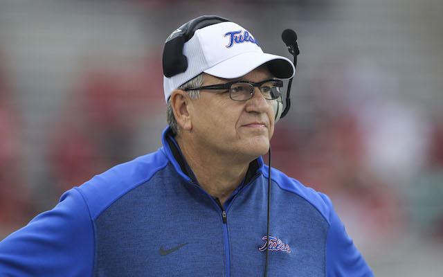 Bill Blankenship went 24-27 in four seasons at Tulsa