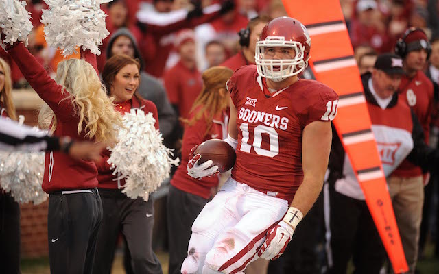 Blake Bell can do a lot of different things for the NFL team that drafts him