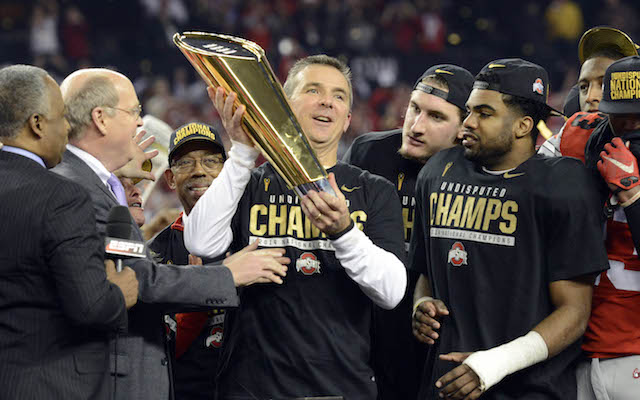 Urban Meyer won his third national title, and his first with Ohio State