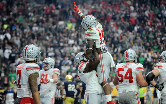 Fiesta Bowl: Ohio State's seniors go out in style with 50 career wins