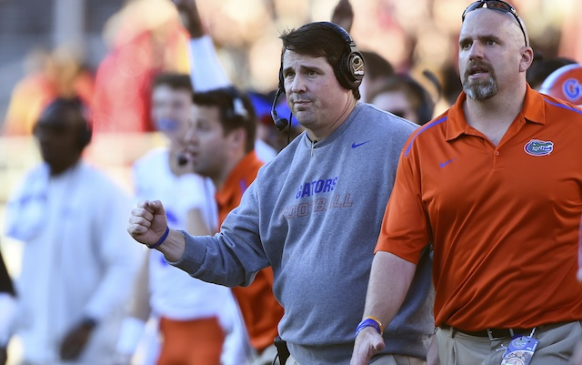 Will Muschamp says Auburn DC was only job offer, won't coach bowl game
