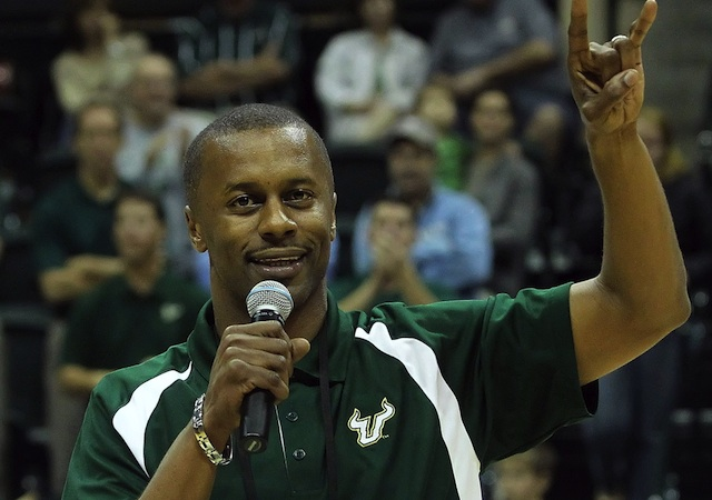 USF coach Willie Taggart is working to rejuvenate the Bulls' fan base in the Tampa area. (USATSI)