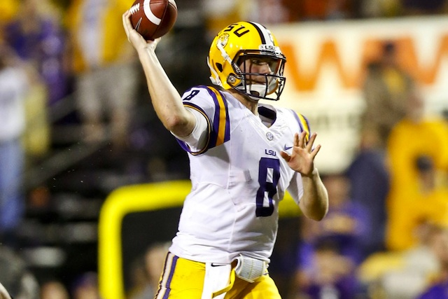 Zach Mettenberger returns to Georgia in a Top 10 SEC matchup that headlines Week 5. (USATSI)