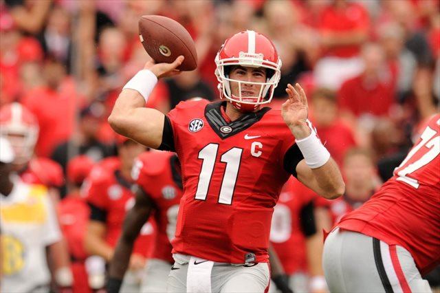 Aaron Murray could make his second SEC on CBS appearance in two weeks. (USATSI)