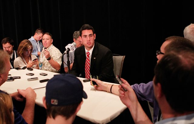 Aaron Murray wasn't shy at SEC Media Days. (USATSI)