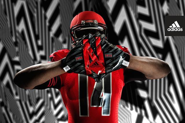 Nebraska will wear these uniforms against Illinois on Sept. 27. (adidas)